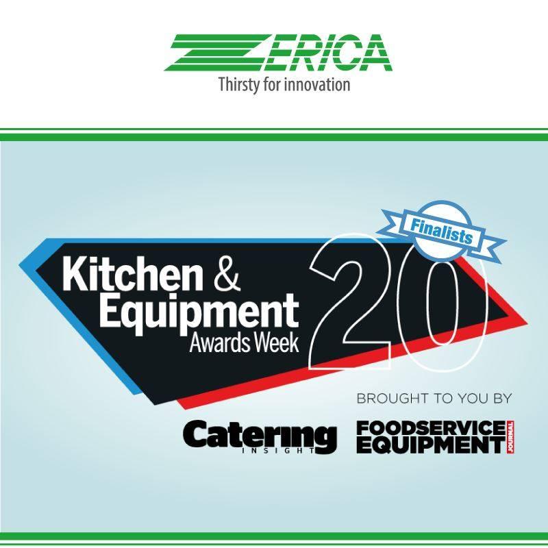 La gamma Anti-Covid di Zerica finalista al Kitchen & Equipment Award!